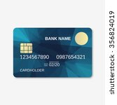 bank card  credit card ... | Shutterstock .eps vector #356824019