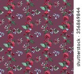 raster seamless pattern with... | Shutterstock . vector #356869844