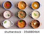 assorted soups from worldwide... | Shutterstock . vector #356880464