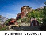 kennicott mine  wrangell   st.... | Shutterstock . vector #356889875