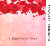 happy valentines day and... | Shutterstock .eps vector #356914331