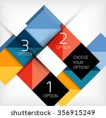 paper style design templates ...   Shutterstock .eps vector #356915249
