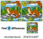 find differences  education... | Shutterstock .eps vector #356921687