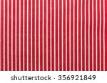 Textile Background With Red An...