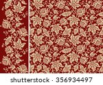 seamless floral pattern and... | Shutterstock .eps vector #356934497