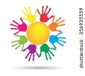 vector concept conceptual...   Shutterstock .eps vector #356935559