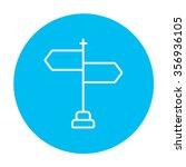 travel traffic sign line icon... | Shutterstock .eps vector #356936105