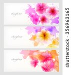 watercolor vector background... | Shutterstock .eps vector #356963165