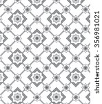 ethnic modern geometric flower... | Shutterstock .eps vector #356981021