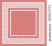 squared keffiyeh vector pattern ... | Shutterstock .eps vector #357017771