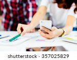 developing mobile application... | Shutterstock . vector #357025829