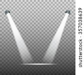 spot light on transparent...   Shutterstock .eps vector #357038639