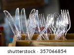 Clear Plastic Knives  Forks An...