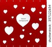 greeting card. vector... | Shutterstock .eps vector #357122654