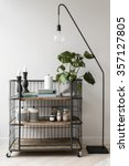 modern interior decorations | Shutterstock . vector #357127805