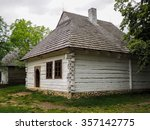 Old Wooden House In The...