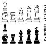 A Complete Set Of Chess Pieces...