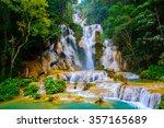 Kuang Si Water Fall In Luang...