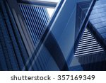 dynamic business cityscape.... | Shutterstock . vector #357169349