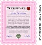 certificate of achievement...   Shutterstock .eps vector #357172601
