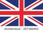 british flag | Shutterstock .eps vector #357186401