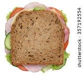 sandwich toast bread for... | Shutterstock . vector #357192554