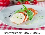 selective focus delisious... | Shutterstock . vector #357228587