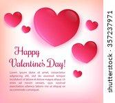 valentine's day vector... | Shutterstock .eps vector #357237971