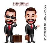 3d realistic professional... | Shutterstock .eps vector #357239729
