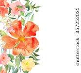 greeting card  invitation ... | Shutterstock .eps vector #357252035