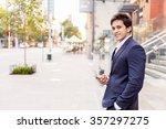 portrait of confident... | Shutterstock . vector #357297275