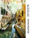 Pictorial Venetian Streets  ...