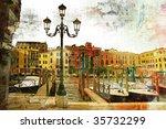 Venice On Sunset   Artwork In...