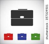3 bag vector icon | Shutterstock .eps vector #357329501