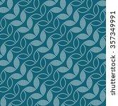 seamless tiled turquoise... | Shutterstock .eps vector #357349991
