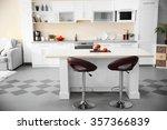 stylish kitchen interior | Shutterstock . vector #357366839