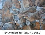 stone texture or background | Shutterstock . vector #357421469