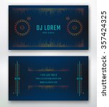 Business Card For Dj Or Music...