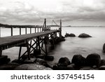 tranquil scene with a high... | Shutterstock . vector #357454154