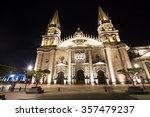 guadalajara cathedral   Shutterstock . vector #357479237