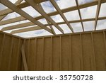 part of a wood house... | Shutterstock . vector #35750728