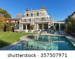 architecture  beautiful house... | Shutterstock . vector #357507971