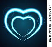 st valentine s  day greeting... | Shutterstock .eps vector #357509537