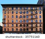 A Facade Of A New York City...