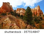 bryce canyon national park ... | Shutterstock . vector #357514847