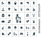 Gardening Icons Vector Set....