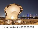 doha  qatar   nov 18  pearl... | Shutterstock . vector #357555851