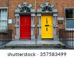 Colorful Doors In Kilkenny In...