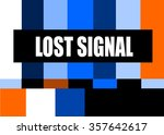 vintage television test pattern ... | Shutterstock .eps vector #357642617