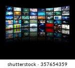 video displays | Shutterstock . vector #357654359